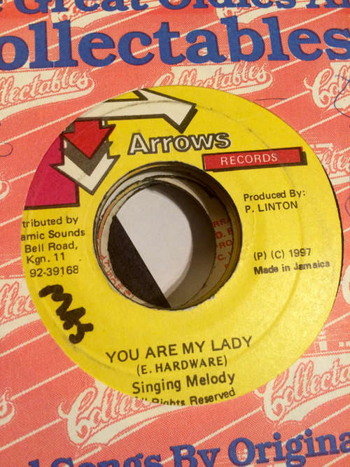 Cover Singing Melody - You Are My Lady (7) Schallplatten Ankauf