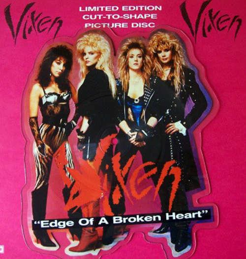 Bild Vixen (2) - Edge Of A Broken Heart (7, Shape, Pic) Schallplatten Ankauf