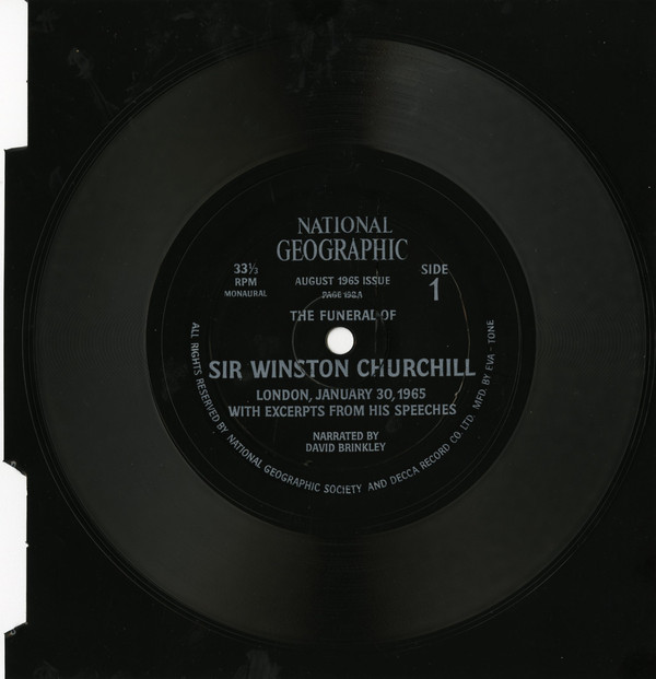 Cover No Artist - The Funeral Of Sir Winston Churchill (Flexi, 7, Mono) Schallplatten Ankauf