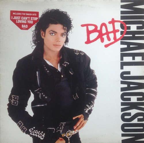 Cover Michael Jackson - Bad (LP, Album, Gat) Schallplatten Ankauf