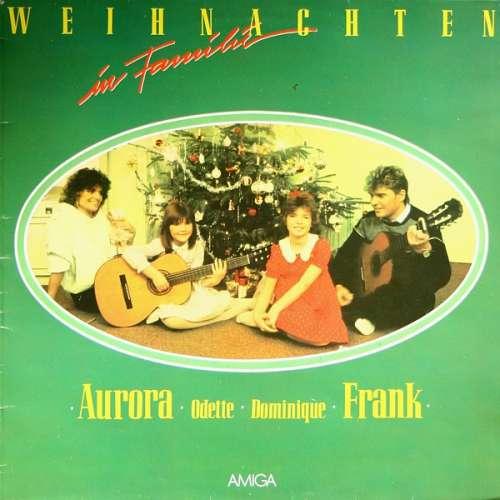 Cover Aurora* · Odette* · Dominique* · Frank* - Weihnachten In Familie (LP, Album, RE) Schallplatten Ankauf