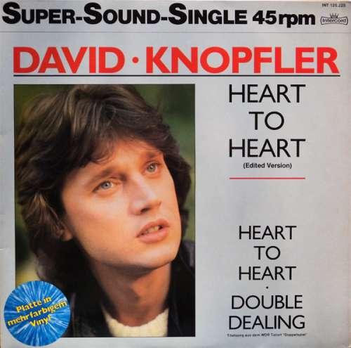 Cover David Knopfler - Heart To Heart (12, Maxi, Blu) Schallplatten Ankauf