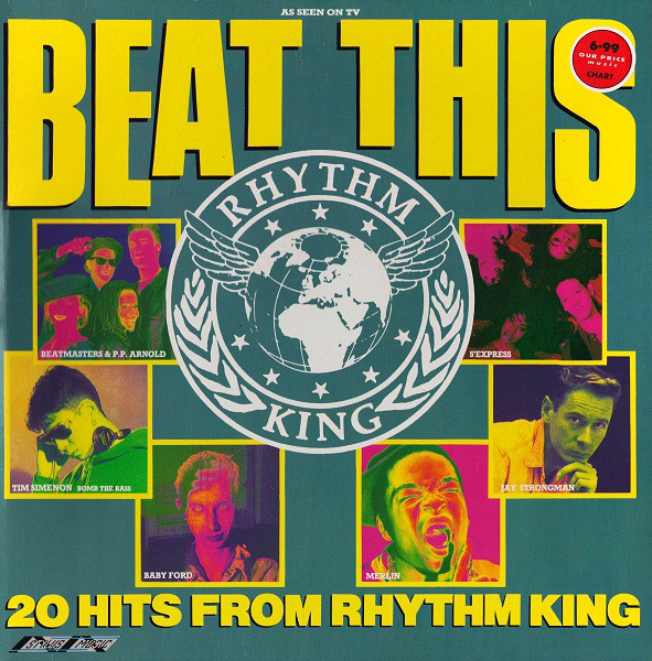 Cover Various - Beat This - 20 Hits From Rhythm King (LP, Comp) Schallplatten Ankauf