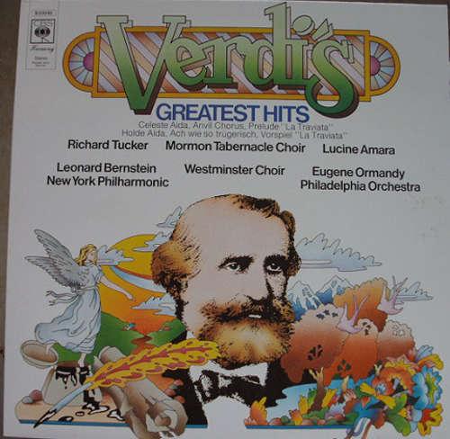 Cover zu Various - Verdi's Greatest Hits (LP, Comp) Schallplatten Ankauf