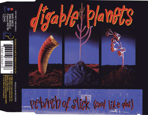 Cover Digable Planets - Rebirth Of Slick (Cool Like Dat) (CD, Maxi) Schallplatten Ankauf