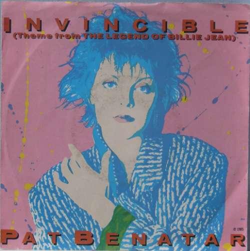 Bild Pat Benatar - Invincible (Theme From The Legend Of Billie Jean) (7, Single) Schallplatten Ankauf