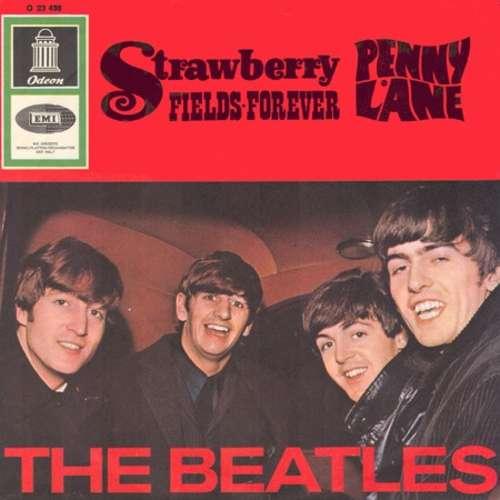 Cover The Beatles - Strawberry Fields Forever / Penny Lane (7, Single, Mono) Schallplatten Ankauf