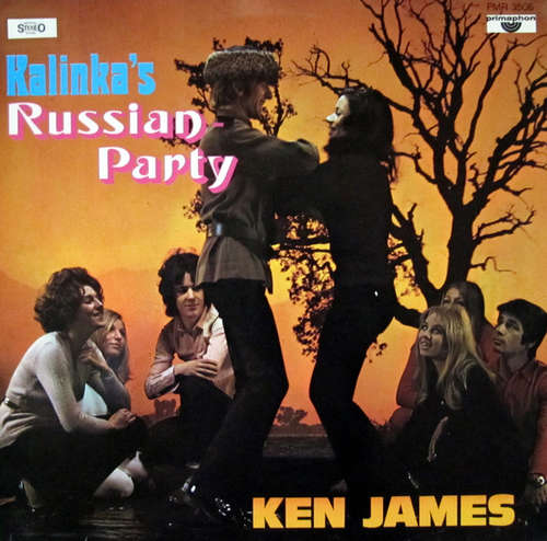 Cover Ken James (2) - Kalinka's Russian-Party (LP) Schallplatten Ankauf