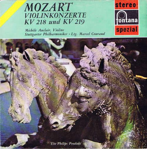 Bild Mozart* – Michèle Auclair, Stuttgarter Philharmoniker, Marcel Couraud - Violinkonzerte KV 218 Und KV 219 (LP) Schallplatten Ankauf