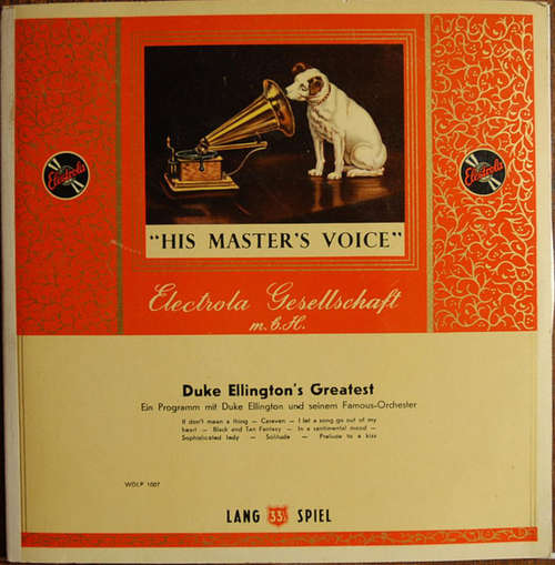 Cover Duke Ellington Mit Seinem Famous-Orchester* - Duke Ellington's Greatest  (10, Comp) Schallplatten Ankauf