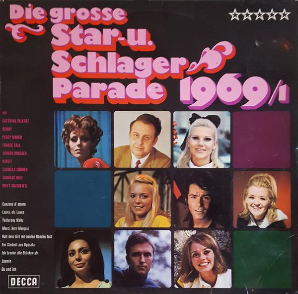 Cover Various - Die Grosse Star- Und Schlager Parade 1969/1 (LP, Comp) Schallplatten Ankauf