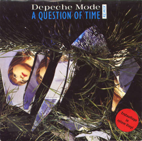 Cover Depeche Mode - A Question Of Time (Remix) (7, Single, Red) Schallplatten Ankauf