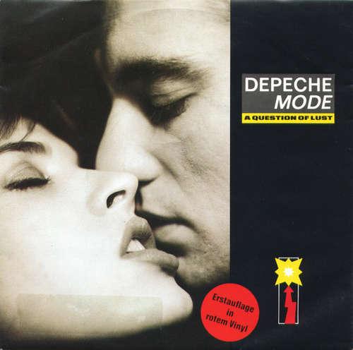 Cover Depeche Mode - A Question Of Lust (7, Single, Red) Schallplatten Ankauf