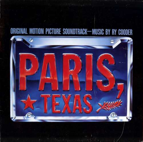 Cover zu Ry Cooder - Paris, Texas - Original Motion Picture Soundtrack (LP, Album) Schallplatten Ankauf