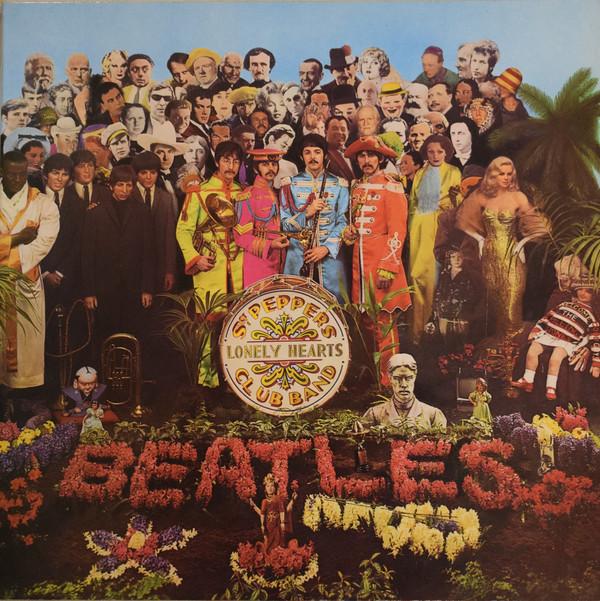 Cover The Beatles - Sgt. Pepper's Lonely Hearts Club Band (LP, Album, RE, Gat) Schallplatten Ankauf