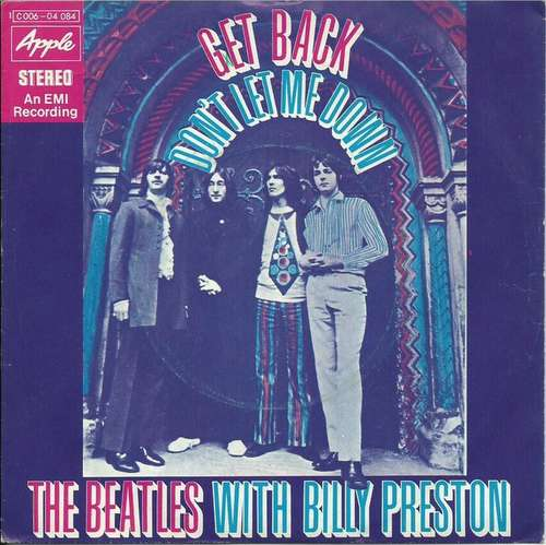 Cover The Beatles With Billy Preston - Get Back / Don't Let Me Down (7, Single) Schallplatten Ankauf