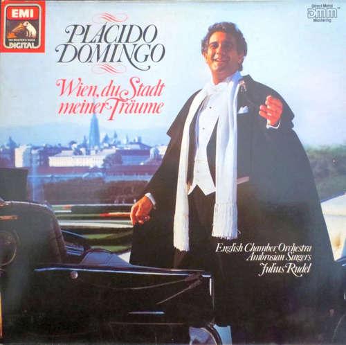 Bild Placido Domingo, English Chamber Orchestra, Ambrosian Singers*, Julius Rudel - Wien, Du Stadt Meiner Träume (LP, Album, Club) Schallplatten Ankauf
