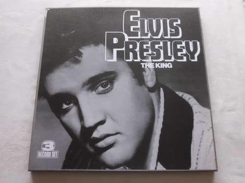 Cover Elvis Presley - The King (3xLP, Comp + Box) Schallplatten Ankauf