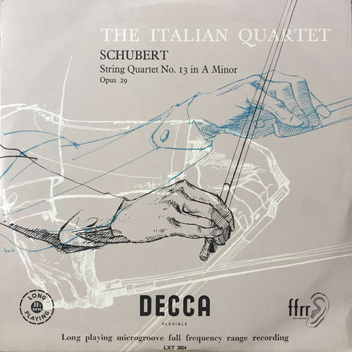 Bild Franz Schubert, The Italian Quartet* - String Quartet No. 13 In A Minor Opus 29 (LP, Album) Schallplatten Ankauf