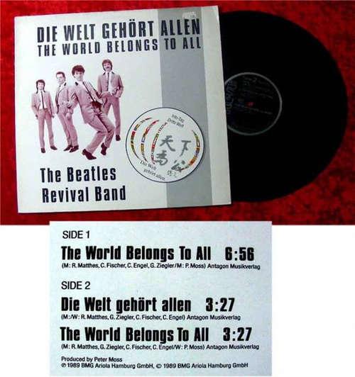 Cover The Beatles Revival Band - Die Welt Gehört Allen (12, Maxi) Schallplatten Ankauf