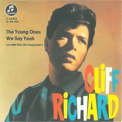 Cover Cliff Richard And The Shadows* - The Young Ones / We Say Yeah (7, Single, Pla) Schallplatten Ankauf