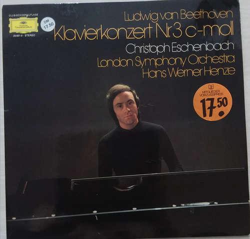 Bild Ludwig van Beethoven - Christoph Eschenbach, London Symphony Orchestra*, Hans Werner Henze - Klavierkonzert Nr. 3 C-moll - Piano Concerto No. 3 In C Minor (LP) Schallplatten Ankauf