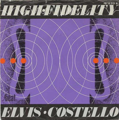 Cover Elvis Costello & The Attractions - High Fidelity (7, Single) Schallplatten Ankauf