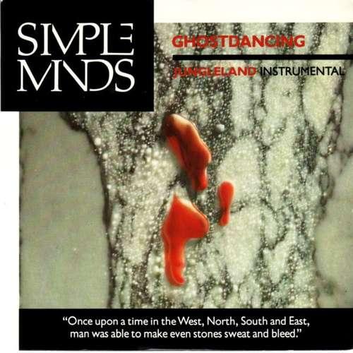 Cover zu Simple Minds - Ghostdancing (7, Single) Schallplatten Ankauf