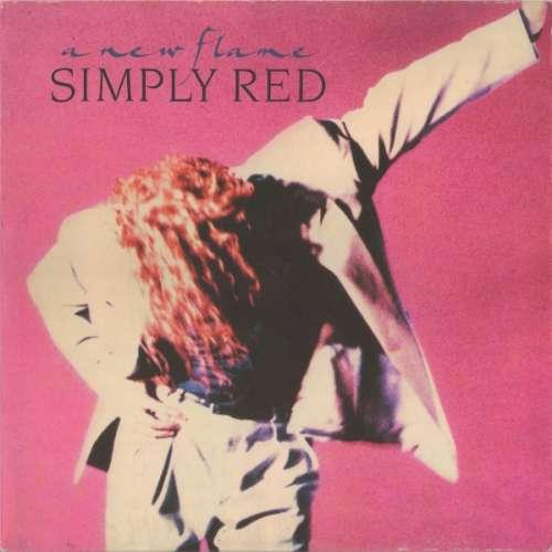 Bild Simply Red - A New Flame (LP, Album) Schallplatten Ankauf