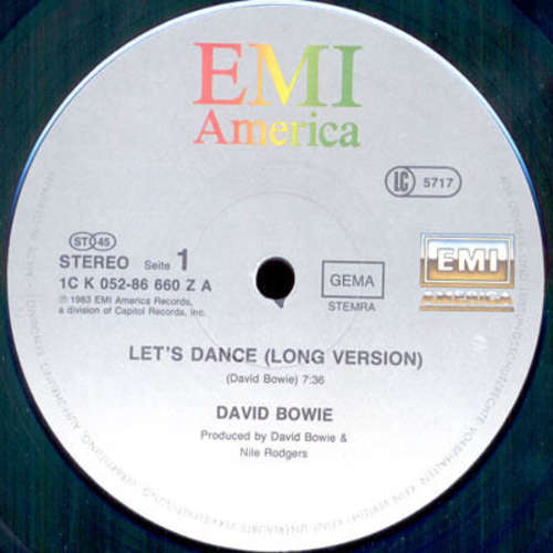 Cover David Bowie - Let's Dance (12, Single) Schallplatten Ankauf
