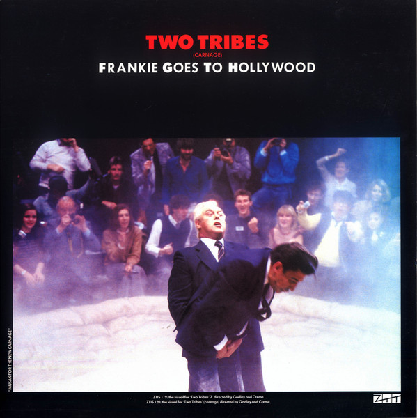 Cover Frankie Goes To Hollywood - Two Tribes (Carnage) (12, Single, Sou) Schallplatten Ankauf