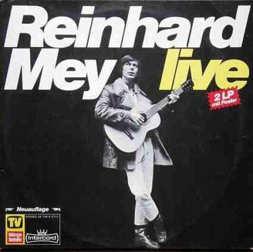 Bild Reinhard Mey - Live (2xLP, Album, RE, S/Edition, Bla) Schallplatten Ankauf