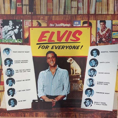 Cover Elvis Presley - Elvis For Everyone! (LP) Schallplatten Ankauf