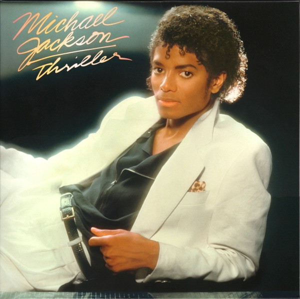 Cover zu Michael Jackson - Thriller (LP, Album, RE, Gat) Schallplatten Ankauf