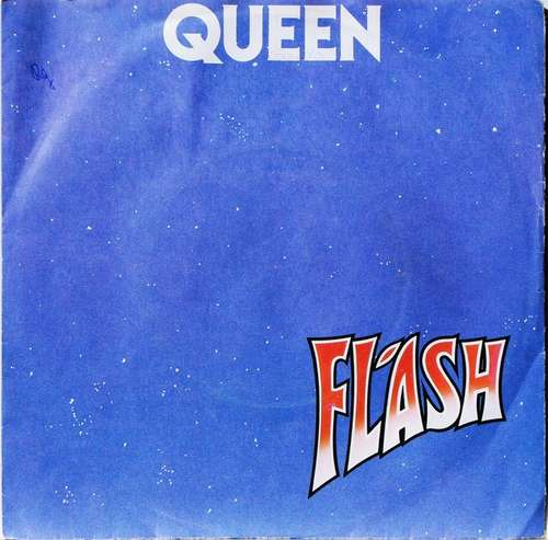 Cover zu Queen - Flash (7, Single, Bla) Schallplatten Ankauf