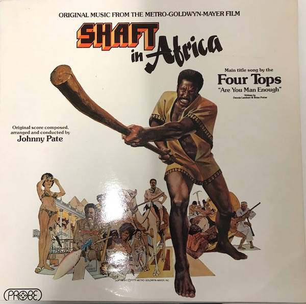 Bild Johnny Pate - Shaft In Africa (LP, Album) Schallplatten Ankauf