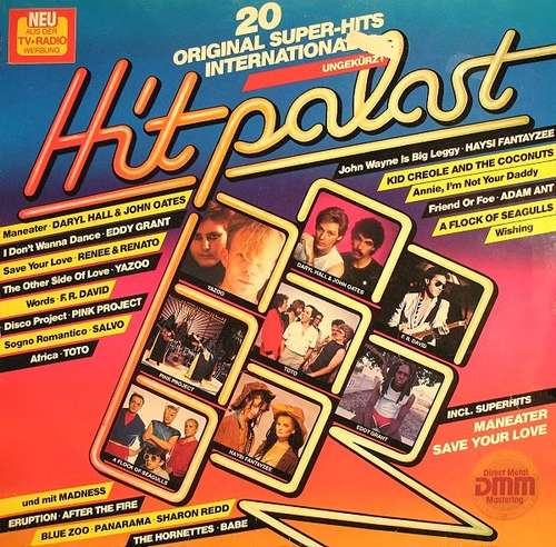 Cover zu Various - Hitpalast - 20 Original Super-Hits International (LP, Comp) Schallplatten Ankauf