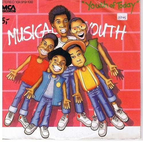 Cover Musical Youth - Youth Of Today (7, Single) Schallplatten Ankauf