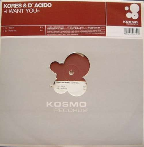 Bild Kores* & D' Acido* - I Want You (12) Schallplatten Ankauf