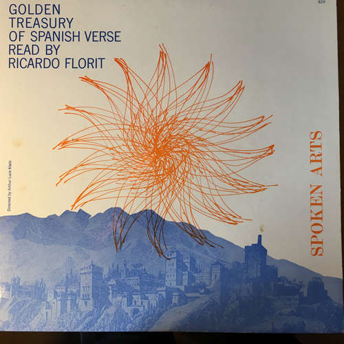 Bild Ricardo Florit - The Golden Treasury Of Spanish Verse (LP, Album) Schallplatten Ankauf