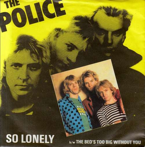 Cover The Police - So Lonely (7, Single) Schallplatten Ankauf