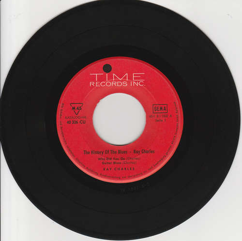 Cover Ray Charles - The History Of The Blues - Ray Charles (7, EP) Schallplatten Ankauf