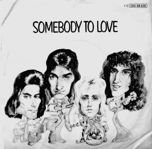 Cover Queen - Somebody To Love (7, Single) Schallplatten Ankauf