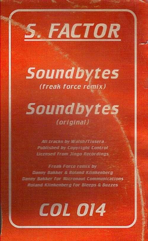 Bild S. Factor - Soundbytes (12) Schallplatten Ankauf