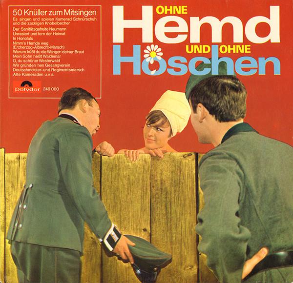 Cover Kamerad Schnürschuh Und Die Zackigen Knobelbecher - Ohne Hemd Und Ohne Höschen (LP) Schallplatten Ankauf