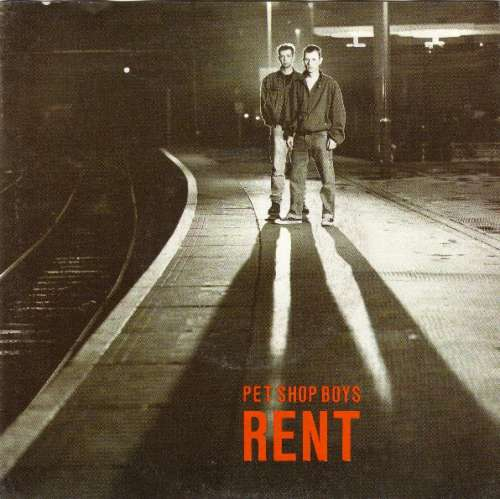 Cover Pet Shop Boys - Rent (7, Single) Schallplatten Ankauf