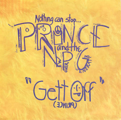 Cover Prince And The New Power Generation - Gett Off (7, Single, Sma) Schallplatten Ankauf