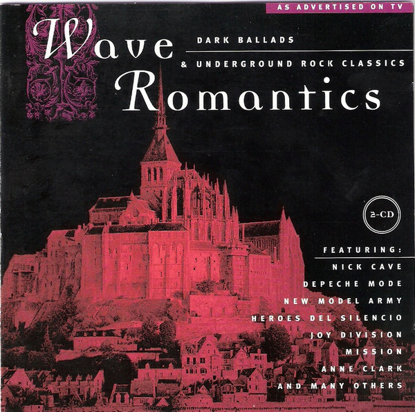 Cover Various - Wave Romantics (2xCD, Comp) Schallplatten Ankauf