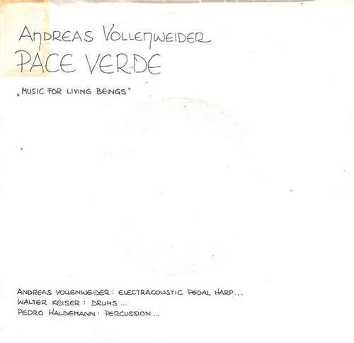 Cover Andreas Vollenweider - Pace Verde (7, Single) Schallplatten Ankauf