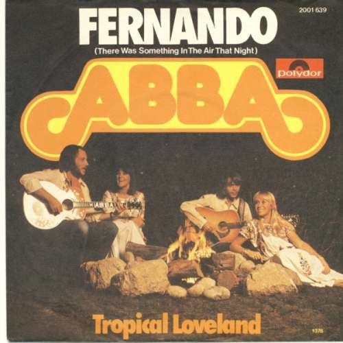 Cover ABBA - Fernando (There Was Something In The Air That Night) (7, Single) Schallplatten Ankauf